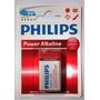 Bateria Philips 9v Alcalina 6lr61 Powerlife