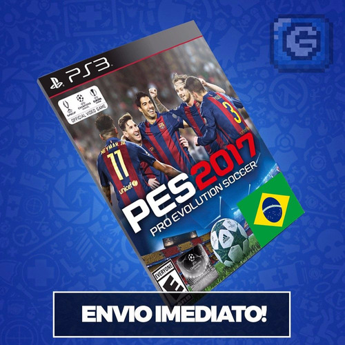 Pes 2017 - Pro Evolution Soccer Pes 17 Ps3 Envio Digital