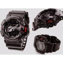 Relógio Casio G-shock Ga-400-1bdr Ana-digi Lançamento*****
