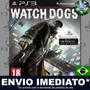 Watch Dogs Ps3 Psn Dublado Português Pt Br Jogo Em Promoção Original