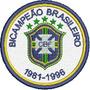 Tpc197 Grêmio Bicampeão Brasileiro Tag Patch Bordado 8 Cm