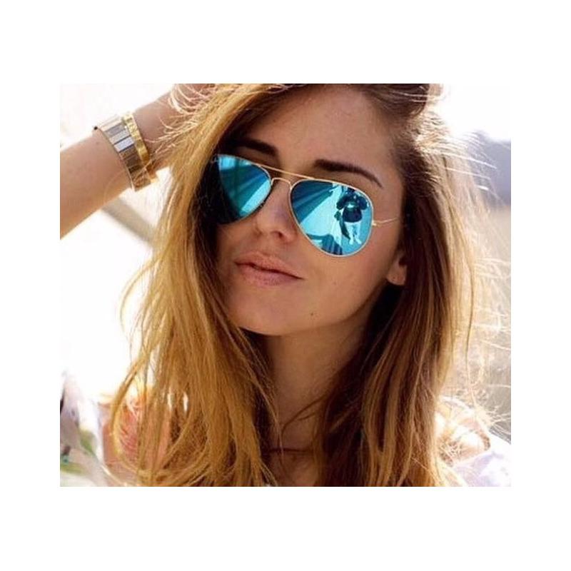 7e7e2ad8ef0f4 Óculos De Sol Com Frete Grátis Feminino Aviador Blogueiras em ...