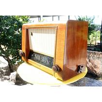 Rádio Telefunken Valvulado Modelo 662w De 1951 S/ Funcionar