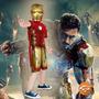 Fantasia Homem De Ferro Iron Man 2 Curta Vingadores Rubies