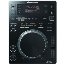 Cd Player Dj Pioneer Cdj 350-k Usb Preto + Softw. Rekordbox