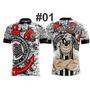 Camiseta Futebol Corinthians/ Timão/ Fiel/ Sccp/ Favela Cor