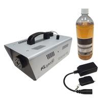 Máquina De Fumaça 1200w 110v + Controle Sem Fio + Líquido