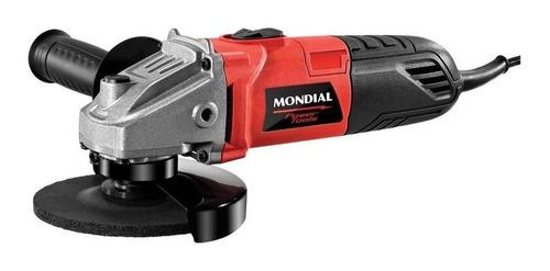 Esmerilhadeira Angular Mondial Fes-02 Vermelha 127v