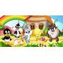 Painel Decorativo Festa Looney Tunes Baby [2x1m] (mod3)
