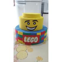 Bolo Fake, Cenográfico Tema Lego