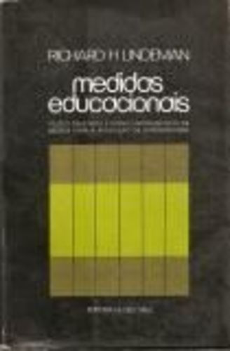Livro Medidas Educacionais Richard H. Lindeman