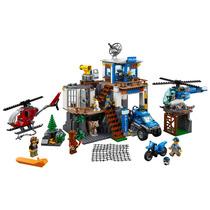 Lego 60174 - City - Quartel General Da Polícia Na Montanha