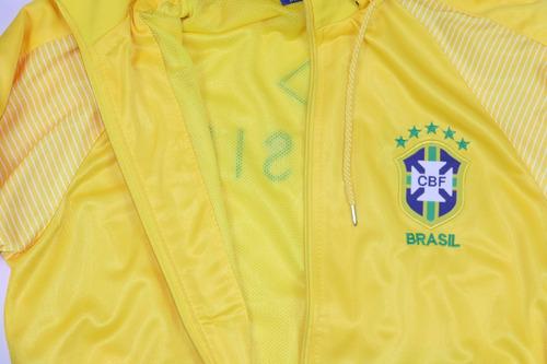 e761b62ddf1c1 Agasalho Do Brasil Seleção Brasileira Blusa E Calça Casaco. Preço  R  185  Veja MercadoLibre