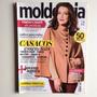 Revista Molde & Cia Casacos Larissa Maciel Ano 2015 N°113