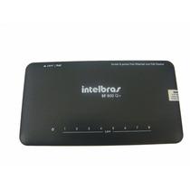 Switch Intelbras Sf800 Q+ - 8 Portas 10/100 Mbps