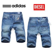 Bermuda Shorts Jeans Adidas Masculino New 2015 Original