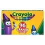 L�pis De Cera Crayola 96 Cores Diferentes - N�o T�xico