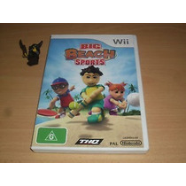 Big Beach Sports Wii Europa Sistema Pal