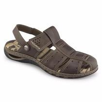 Sandália Masculina Pegada Couro 31607-05 Snob Calçados