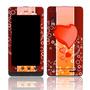 Capa Adesivo Skin372 Motorola Milestone 3 Xt860 4g