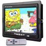 Tela Lcd 7 Polegadas Portátil Monitor Veicular Controle Rca