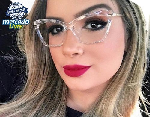 3eb132dc6 Armação Óculos Grau Feminino Gatinho à venda em Cooperativa São Bernardo do  Campo São Paulo por apenas R$ 75,99 - CompraMais.net Brasil