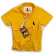 Camisa Polo/body Infantil Qualidade Importada Original C.445