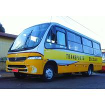 Micro Ônibus Marcopolo Senior Gv Documento Ônibus 27 Lugares