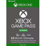 Xbox Game Pass Ultimate 12 Meses Codigo 25 Dígitos Envio Já