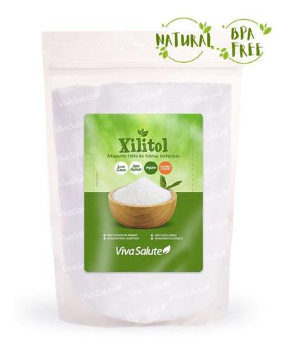 Xilitol 100% Puro Adoçante Natural Dieta Low Carb 1kg Laudo!