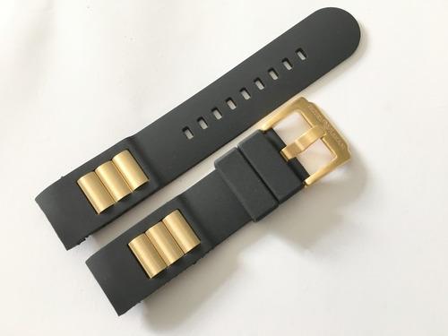 79304a236c9 Pulseira Borracha Emporio Armani Ap-0690 Dourada Original à venda em ...