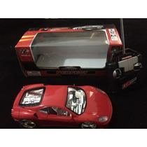 Ferrari De Controle Remoto Controle Total Acende Farol Neon