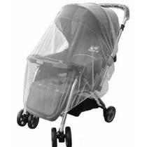 Tela Protetora Anti Mosquito Mosquiteiro P/ Carrinho De Bebê