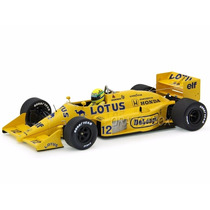 F1 Lotus 99t 1987 12 Ayrton Senna Minichamps 1:18 540871812