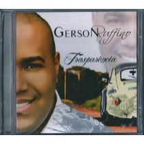 Cd Gerson Rufino - Transparência [bônus Playback]