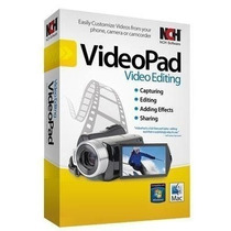 Nch Videopad Video Editor Professional  - Envio Por E-mail.