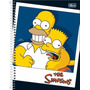 Kit C/2 Cadernos 1 Matéria The Simpsons C/96 Fls - Tilibra