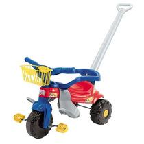 Motoca Azul Infantil Triciclo Festa Magic Toys