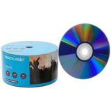 50 Unidades Mídia Dvd-r Multilaser Printable 16x 4.7 Gb Nota