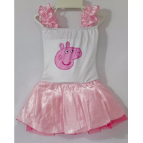 Fantasia Infantil Peppa Pig - Vestido - Carnaval - Festas