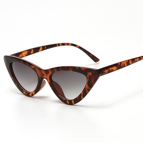 0c1f08754 Óculos De Sol Gatinho Lolita Specs Cat Eye Vintage Leopardo