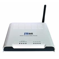 Roteador Modem Wifi Zte W300 Adsl2 Vivo Fixa Oi Velox Novo