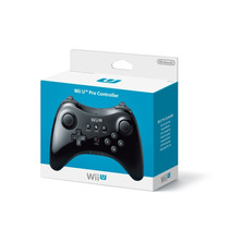 Controle Nintendo Wii U Pro Preto Novo Original