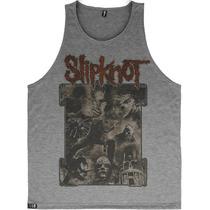 Regata Slipknot Camiseta Blusa Moletom Banda Rock Caveira
