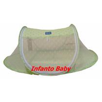 Mosquiteiro Portátil Berço Bebê Rosa - Azul E Verde !