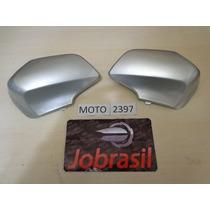 Moto 2397 Cobertura Garfo Biz 100+ Ano 2005 Prata Metálico
