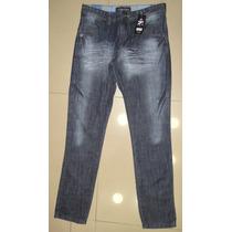 Calça Jeans Escuro Masculina Boca Grande - A Pronta Entrega