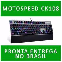 Teclado Gamer Mecanico Motospeed Ck108(pronta Entrega)