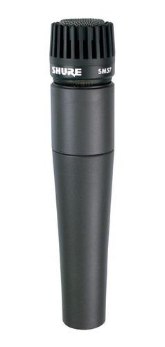 Microfone Shure Sm57-lc Cardióide Preto