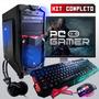 Pc Completo Gamer Com Wi-fi E Monitor Lcd! Frete Gratis!